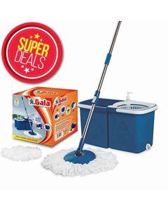 Super Deal- Gala Twin Bucket Quick Spin Tiles/Floor Cleaner (যারা পেমেন্ট করে অর্ডার করবেন সবাই পাবেন+Free Shipping)