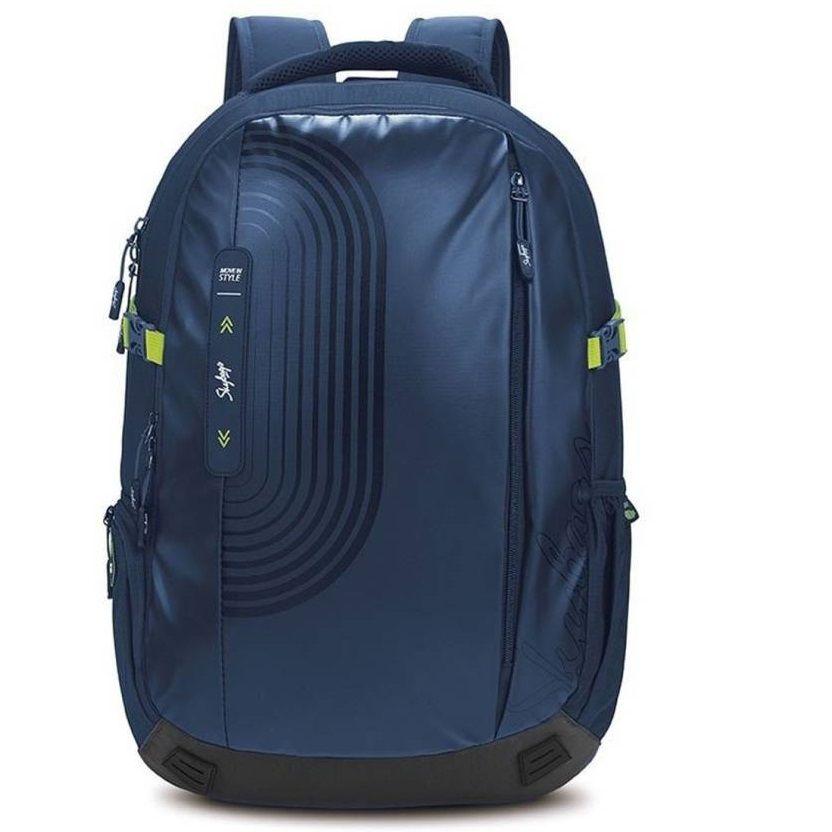 Lunar 04 Laptop Backpack Blue