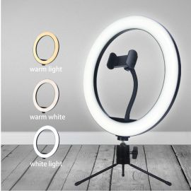 10 inch Ring Light with Table Tripod 1007854