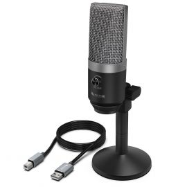 Metal Body USB Microphone- FiFINE K670 Best For YouTube Recording, Streaming, Voice Over 107708