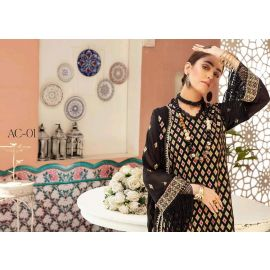New Khubsurat Exclusive Swiss Embroidered Collection 2020 . ac-01 in BD at BDSHOP.COM