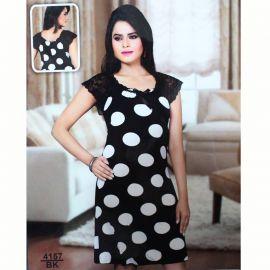 Ladies lounge wear (Black &white) 106270