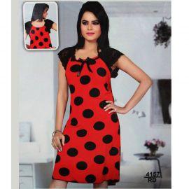 Ladies Lounge Wear (Red & Black) 106272