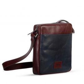 SSB Heathrow Mens Premium Leather Messenger Bag SB-MB49 in BD at BDSHOP.COM