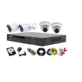 Dahua 1.3 HD 4 channel Hikvision Camera 106572