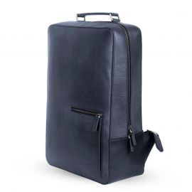 SSB Premium Leather Antique Grey Square backpack SB-BP103 in BD at BDSHOP.COM