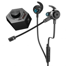 PLEXTONE G50 3.5mm Wired DSP Sound Processor Noise Cancelling Dual Mic Gaming Headphone – Black in BD at BDSHOP.COM