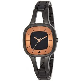 Fastrack Black Dial Women's Watch- 6147NM01 1007106