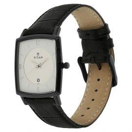 Titan Analog White Dial Men's Watch-9159NL02 107402