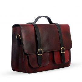 SSB Antique Cara Premium Leather Executive bag SB-LP48 in BD at BDSHOP.COM