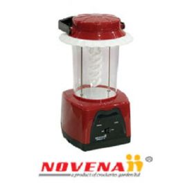Red Color Novena Rechargeable Light (NEL-108)