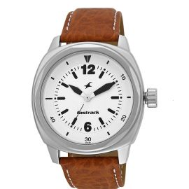 Fastrack Analog Silver Dial Unisex Watch - 3076SL03 107336