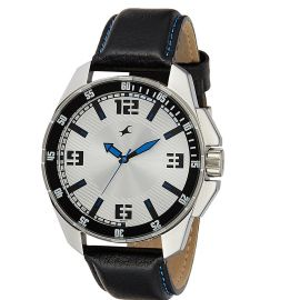 Fastrack White dial Mens Analog Watch (3084SL01) 107322