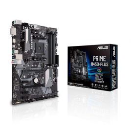 Asus Prime B450-PLUS AMD AM4 ATX Motherboard in BD at BDSHOP.COM