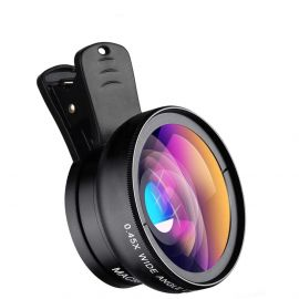 HD Mobile Lens 0.45x Super Wide Angle & 12.5x Super Macro HD Lens Camera Lens 106998