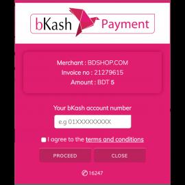 bKash Payment Gateway Plugin for Magento 2 bKashPGW