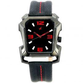 Black dial Fastrack watch for men (3131NL02) 105869