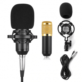 BM800 Microphone- High Performance Condenser Microphone for YouTube Studio 107605