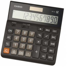 Casio DH-12 Professional/Desk Display Calculator 107705