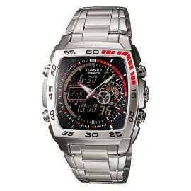 Casio Dual Time Thermometer Watch for Gents (EFA-122D-1A) 100776