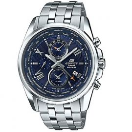 Casio Edifice Blue Dial Stainless Steel Men's Watch-EFB301JD-2A 107253