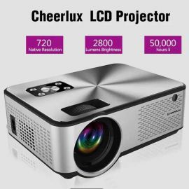 Cheerlux C9 Android & WiFi Enabled LCD Projector, 2800 Lumens, 1280x720 Native Resolution in BD at BDSHOP.COM