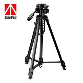 DIGIPOD TR452 Aluminum Camera Tripod (4.4 Feet)- Suitable to Mobile, Mirrorless Camera, DSLR 1007803