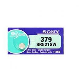 Sony 379 SR521SW Watch Battery 106584