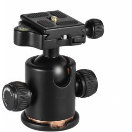 DSLR Camera Tripod Ball Head- 360 Fluid Rotation Max Load 8kg with Quick Release Plate (YGS18) 1007176