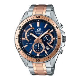 Casio Edifice Watch - Royal Blue and Rose Gold - (EFR-552SG-2AV) 105337