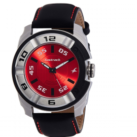 Fastrack Analog Red Dial Men's Watch-NK3150KL02 107114A