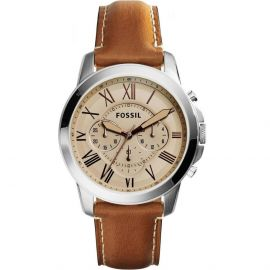 Fossil Dean for Men - Casual Leather Band Watch - FS5118 106241