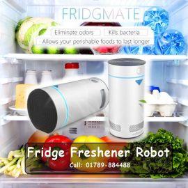Fridge Freshener Robot- Fridgmate Wokesmart Refrigerator Deodorizer, Ionizer Air Purifier 107606
