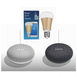 Google Home mini + Sonoff B1 Combo Offer (Voice Controlled Light Set) 106938