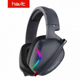 Havit 7.1 Gaming Headset Headphones With Microphone/RGB Light For PC, Xbox, Professional Gamer (H2019U) 1007844