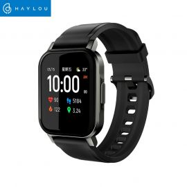 Haylou LS02 IP68 Waterproof 1.4 Inch HD Screen Bluetooth 5.0 Smart Watch - Black (Global Version) 1007952