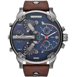 Diesel  2.0 Men's Blue Dial Leather Band Watch - DZ7314 106494