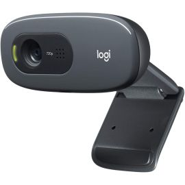 Logitech C270 Widescreen HD Video Calling for Zoom Live, Google Meet, Skype, PC/Mac/Laptop/MacBook 1007813