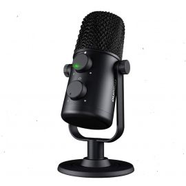 MAONO AU-902 USB Cardioid Condenser Microphone with Dual Volume Control, Mute Button, Monitor Headphone Jack, Plug and Play for Vocal, YouTube, Livestream, Recording, Gaming 1007175