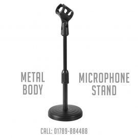 Microphone Stand- Best Quality Table Stand with Full Metal Body (Odio TS-20) 106855