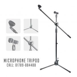 Microphone Tripod Stand (LW-38) With Two Microphone Holder  107660