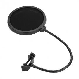 Wind Pop Filter for Microphone with Adjustable Arm 107472