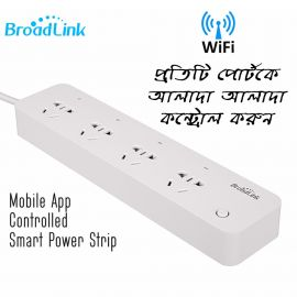 Mobile App Controlled Power Strip (Broadlink MP1)- Control Each Ports Separately 106850