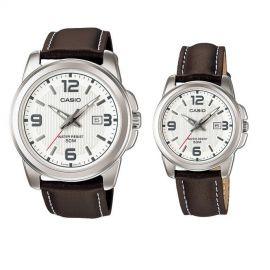 Casio Couple Watches Bundle [MTP/LTP-1314L-7A] 101330