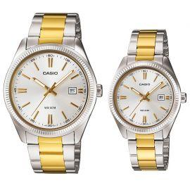Casio Gold Tone Pair Watch - MTP/LTP-1302SG-7A 104767