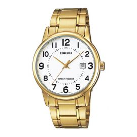 Casio Golden Bridal Watch for Gents (MTP-V002G-7B) 101098