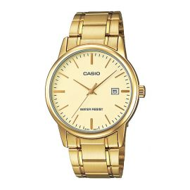 Casio Golden Bridal Watch for Gents (MTP-V002G-9A) 101097