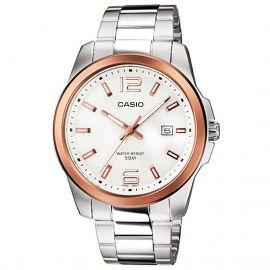 Casio MTP-1296d-7avdf – Wristwatch Men's, Stainless Steel Silver Strap 107049