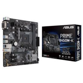 Asus PRIME B450M-K DDR4 AMD AM4 Socket Motherboard in BD at BDSHOP.COM