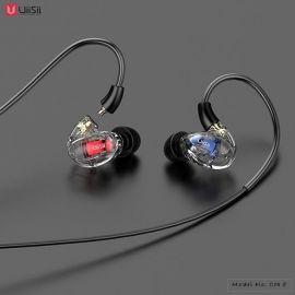 UiiSii CM8 Triple Hybrid Drivers Over-ear Detachable Earphones – Black 1007881